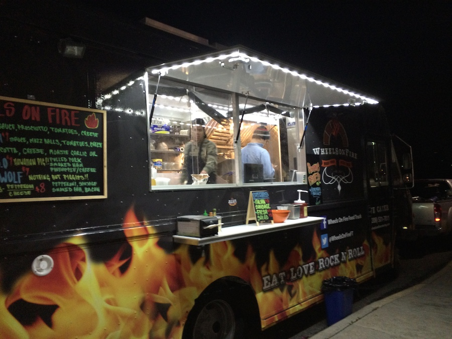 Wheels On Fire Pizza Truck Newest Member Of Denver S Food