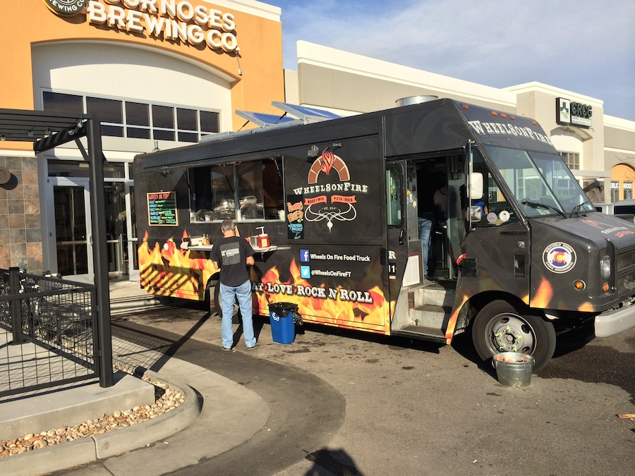 Whenever Possible The Wheels On Fire Pizza Truck Is Serving Denver With Healthy Sustainable Food Raised By Local Suppliers