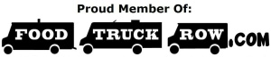 Food truck row logo